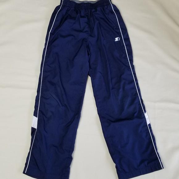 8effeeeb7 STARTER *Boys* blue & white athletic lined pants. M_5b6a7722a5d7c6d46ba40afc